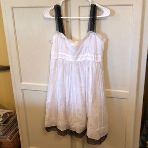 Ann Taylor Loft Lace & Cotton Sun Dress Size 6
